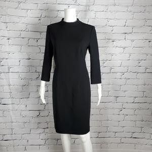 Hugo Boss Hadena Black Sheath Dress